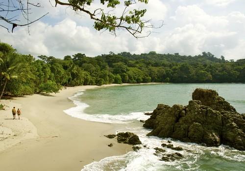 Day 10: Transfer Monteverde to Manuel Antonio beach, Jungle Crocodile Safari boat tour
