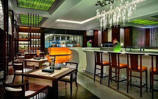 Blue Jade at the Ritz-Carlton