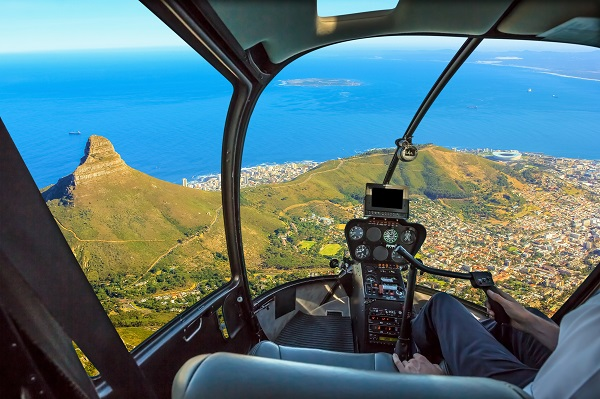 Helicopter and Aeroplane Trips Over Cape Town