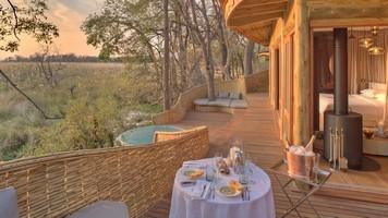 &Beyond Sandibe Okavango Delta Lodge