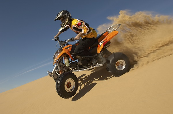 Quad Biking in the Dunes