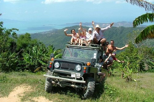 Jungle Tour with 4 Wheel Drive Jeep
