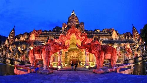 Phuket FantaSea Cultural Theme Park - Show & Optional Dinner
